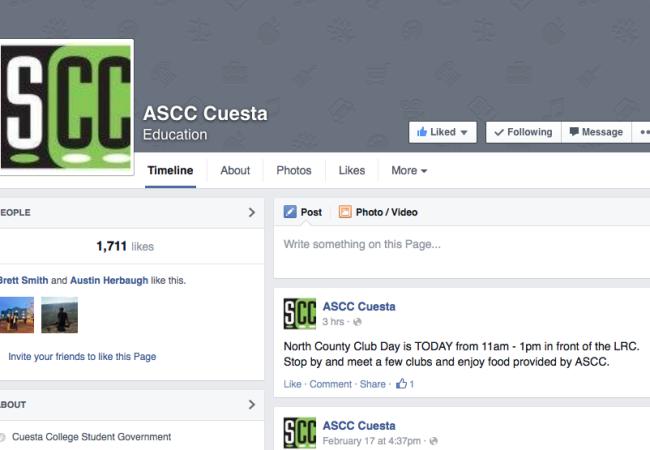ASCC hopes to gain larger social media following