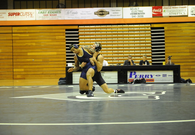 Wrestler dominates on the mat and in the classroom