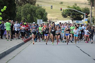 Annual 5K run raises five grand for Cuesta