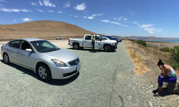 Car burgalized during field trip