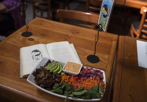 Local vegan restaurant: Shine Cafe