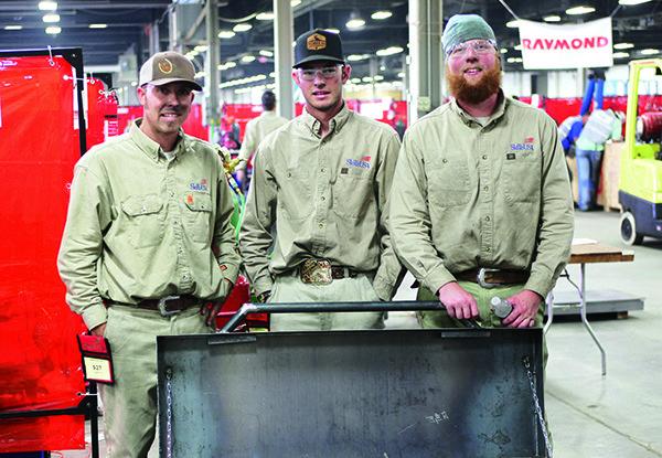 Cuesta's welding team wins big