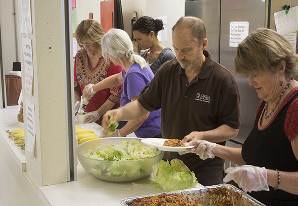 Cuesta students help with The People's Kitchen