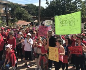 This is what democracy looks like: SLO celebrates International Women's Day