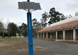 Cuesta College just got safer by a simple push of a button