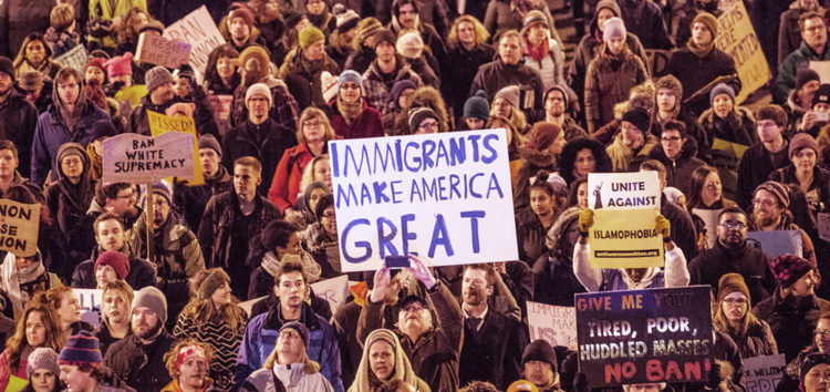 Cuesta in the time of Trump: Travel ban sparks dissent locally and nationally