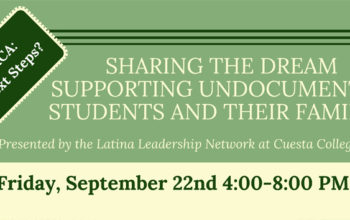 Cuesta to host forum for students impacted by latest DACA announcement