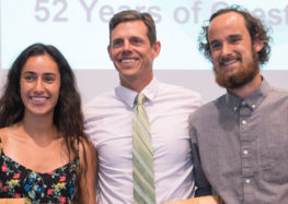 Sean McDermott and Miranda Daschian win Athlete of the Year