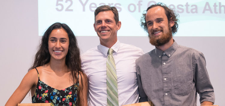 Sean McDermott and Miranda Daschian win Athlete of the Year
