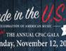 Cuesta Performing Arts Center hosting an all American musical gala
