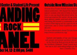 Cuesta to host Standing Rock Panel