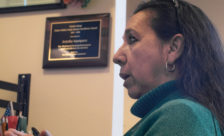 Faculty member receives Cuesta service award, dedicating it to fellow immigrants