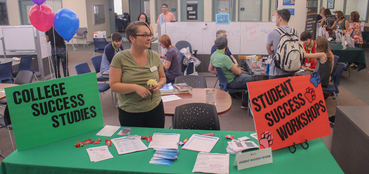 Student Success Center showcases available programs