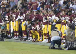 Taking a knee: the NFL, protests, and the history of American Racism.