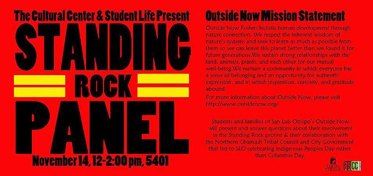 Cuesta to host Standing Rock Panel