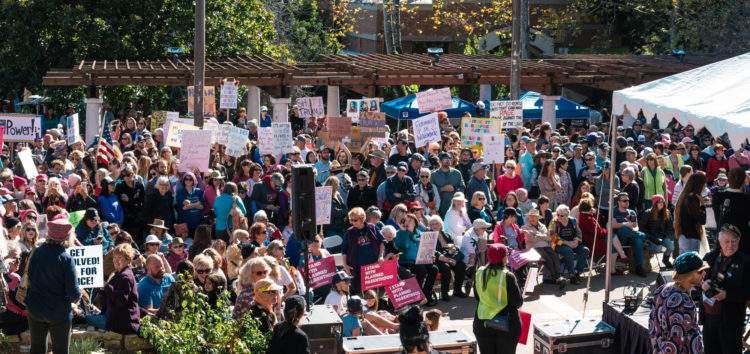 San Luis Obispo comes together during Women's rally
