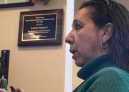 Faculty member receives Cuesta service award, dedicating it to fellow immigrants