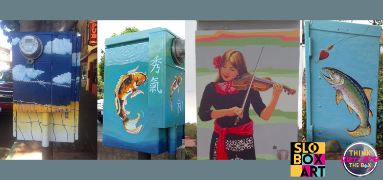 Local artists wanted for San Luis Obispo utility box artwork