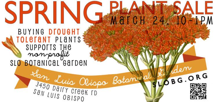 San Luis Obispo Botanical Garden's spring plant sale set for March