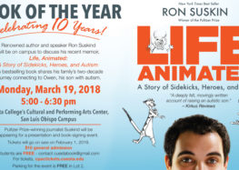 Cuesta honors author Ron Suskind with Book of the Year
