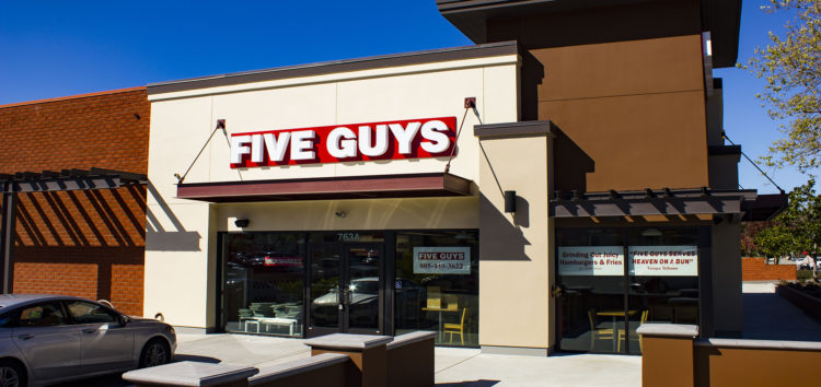 Five Guys opens in SLO