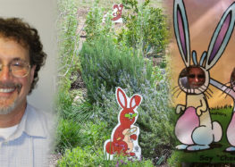 Famous cartoonist adds more color to Botanical Gardens