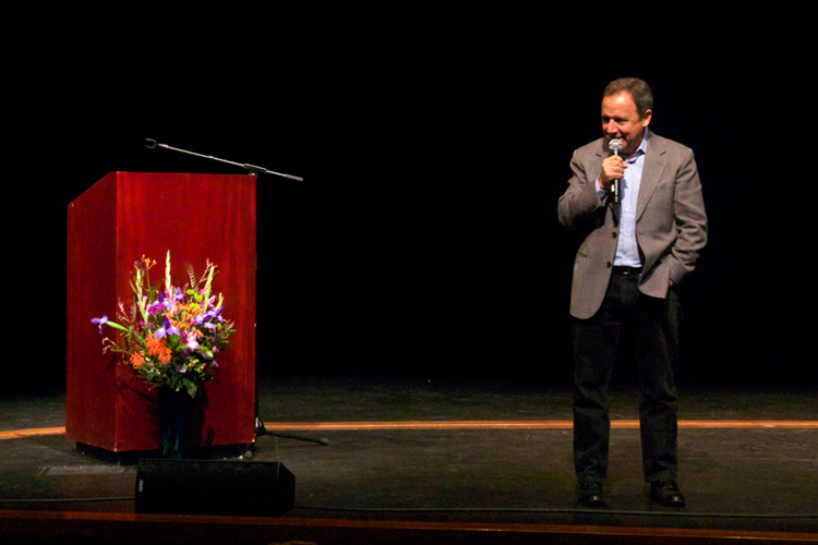 "Ron Suskind, author ""Life, Animated - A Story of Sidekicks, Heroes, and Autism"""