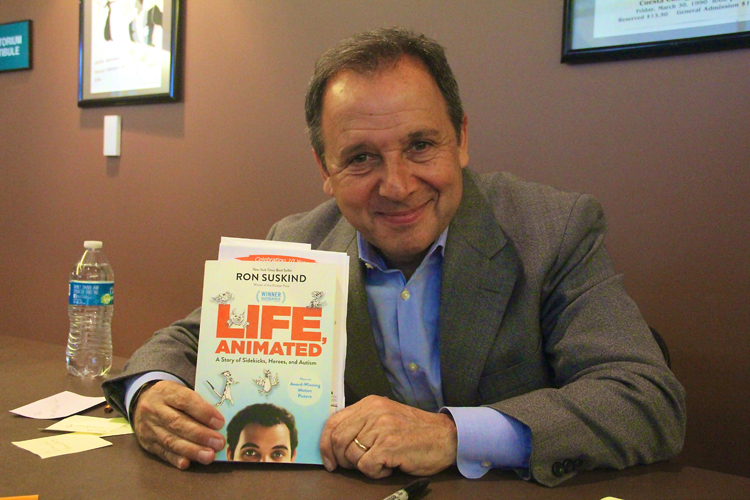 "Ron Suskind, ""Life, Animated - A Story of Sidekicks, Heroes, and Autism"" book signing"