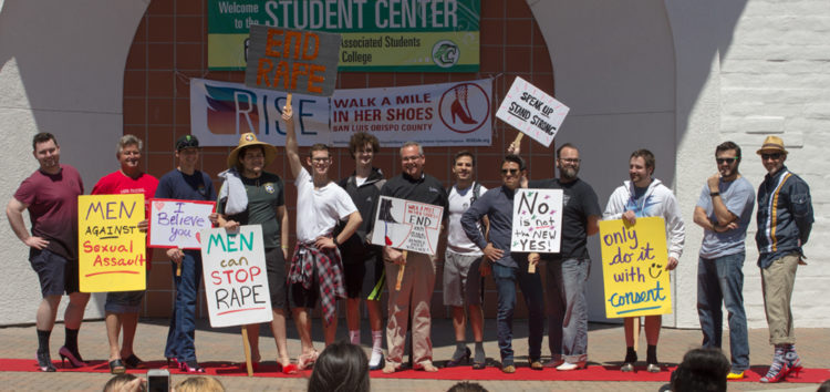 Cuesta 'Walks a Mile in Her Shoes' to end sexual assault and rape culture