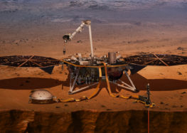 Mars Insight Lander scheduled to launch from the Central Coast